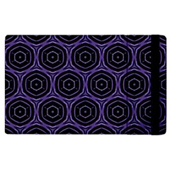 Background Colour Purple Circle Apple Ipad 2 Flip Case