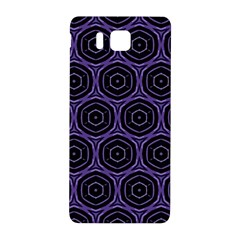 Background Colour Purple Circle Samsung Galaxy Alpha Hardshell Back Case