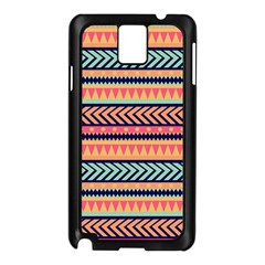Chevron Wave Samsung Galaxy Note 3 N9005 Case (black)