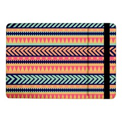Chevron Wave Samsung Galaxy Tab Pro 10 1  Flip Case by AnjaniArt