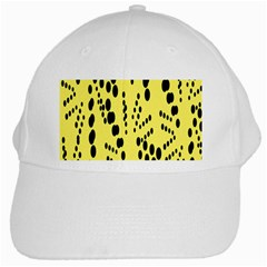 Circular Dot Selections Circle Yellow White Cap