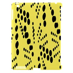 Circular Dot Selections Circle Yellow Apple Ipad 3/4 Hardshell Case (compatible With Smart Cover) by AnjaniArt