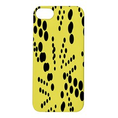 Circular Dot Selections Circle Yellow Apple Iphone 5s/ Se Hardshell Case by AnjaniArt