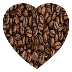 Coffee Beans Jigsaw Puzzle (heart)