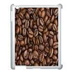 Coffee Beans Apple iPad 3/4 Case (White) Front