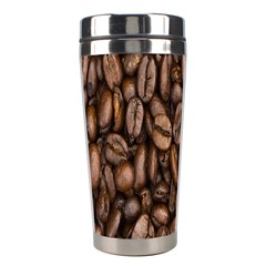 Coffee Beans Stainless Steel Travel Tumblers by AnjaniArt