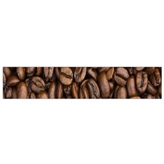 Coffee Beans Flano Scarf (small) by AnjaniArt