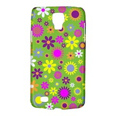 Colorful Floral Flower Galaxy S4 Active by AnjaniArt