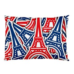 Eiffel Tower Paris Perancis Pillow Case (two Sides) by AnjaniArt