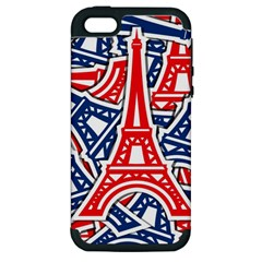 Eiffel Tower Paris Perancis Apple Iphone 5 Hardshell Case (pc+silicone) by AnjaniArt
