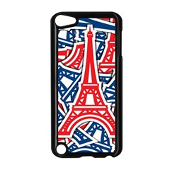 Eiffel Tower Paris Perancis Apple Ipod Touch 5 Case (black) by AnjaniArt