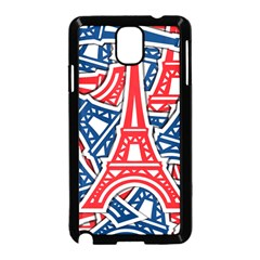 Eiffel Tower Paris Perancis Samsung Galaxy Note 3 Neo Hardshell Case (black)
