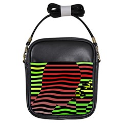 Face Palm Think Girls Sling Bags
