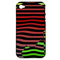 Face Palm Think Apple Iphone 4/4s Hardshell Case (pc+silicone) by AnjaniArt