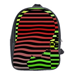 Face Palm Think School Bags (xl)