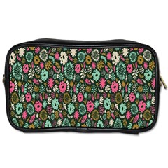 Floral Flower Flowering Rose Toiletries Bags 2 Side by AnjaniArt