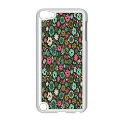 Floral Flower Flowering Rose Apple Ipod Touch 5 Case (white)