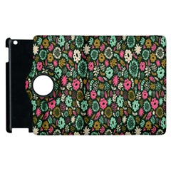 Floral Flower Flowering Rose Apple Ipad 2 Flip 360 Case