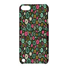 Floral Flower Flowering Rose Apple Ipod Touch 5 Hardshell Case With Stand by AnjaniArt
