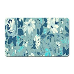 Floral Pattern Wallpaper Magnet (rectangular) by AnjaniArt