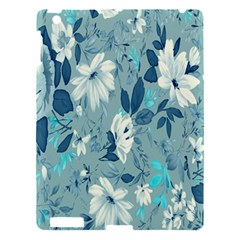 Floral Pattern Wallpaper Apple Ipad 3/4 Hardshell Case by AnjaniArt