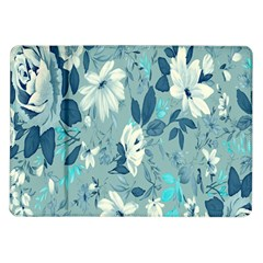 Floral Pattern Wallpaper Samsung Galaxy Tab 10 1  P7500 Flip Case