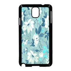 Floral Pattern Wallpaper Samsung Galaxy Note 3 Neo Hardshell Case (black) by AnjaniArt