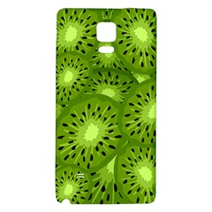 Fruit Kiwi Green Galaxy Note 4 Back Case by AnjaniArt
