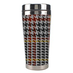 Glen Woven Fabric Stainless Steel Travel Tumblers