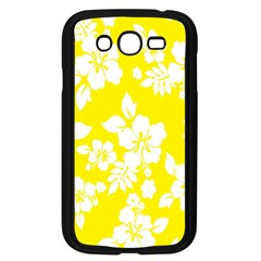 Hawaiian Flowers Samsung Galaxy Grand Duos I9082 Case (black)