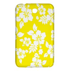 Hawaiian Flowers Samsung Galaxy Tab 3 (7 ) P3200 Hardshell Case  by AnjaniArt