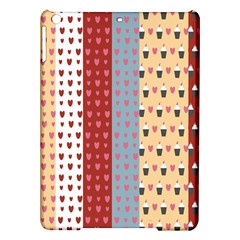 Love Heart Cake Valentine Red Gray Blue Pink Ipad Air Hardshell Cases