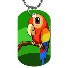 Parrots Pinterest Dog Tag (two Sides) by AnjaniArt