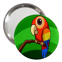Parrots Pinterest 3  Handbag Mirrors by AnjaniArt