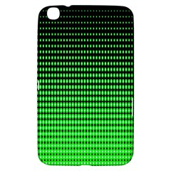 Neon Green Samsung Galaxy Tab 3 (8 ) T3100 Hardshell Case  by AnjaniArt