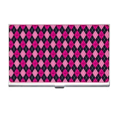 Pink Baby Showers Skull Chevron Wave Pink Purple Black Pink Business Card Holders