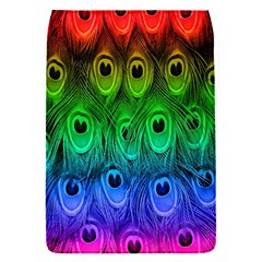 Peacock Feathers Rainbow Flap Covers (s)