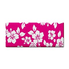Pink Hawaiian Flower Cosmetic Storage Cases by AnjaniArt