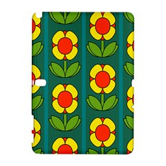 Retro Flowers Floral Rose Galaxy Note 1 by AnjaniArt