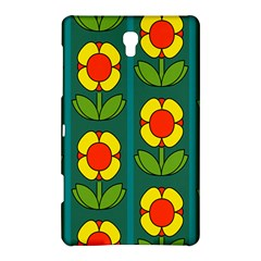 Retro Flowers Floral Rose Samsung Galaxy Tab S (8 4 ) Hardshell Case  by AnjaniArt
