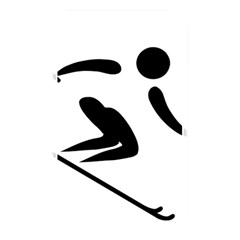 Alpine Skiing Pictogram  Memory Card Reader by abbeyz71