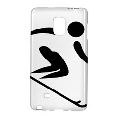 Alpine Skiing Pictogram  Galaxy Note Edge by abbeyz71