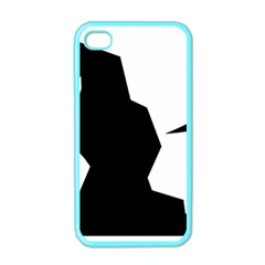 Mountaineering Climbing Pictogram  Apple Iphone 4 Case (color) by abbeyz71