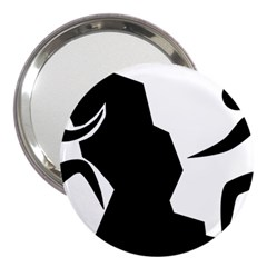 Mountaineering-climbing Pictogram  3  Handbag Mirrors by abbeyz71