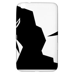 Mountaineering Climbing Pictogram  Samsung Galaxy Tab 3 (8 ) T3100 Hardshell Case  by abbeyz71