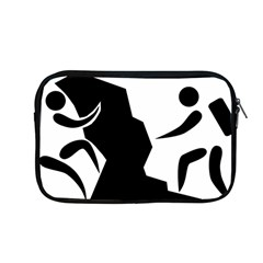 Mountaineering Climbing Pictogram  Apple Macbook Pro 13  Zipper Case by abbeyz71