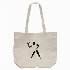 American Football Pictogram  Tote Bag (cream) by abbeyz71