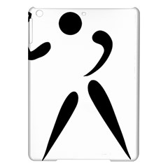 American Football Pictogram  Ipad Air Hardshell Cases by abbeyz71