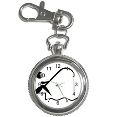 Angling Pictogram Key Chain Watches by abbeyz71