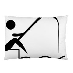 Angling Pictogram Pillow Case (two Sides) by abbeyz71